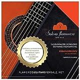 Set de Cuerdas para guitarra Solera Flamenca STRINGS