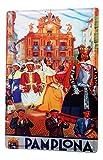 LEotiE SINCE 2004 Cartel Letrero de Chapa Deco Ciudad Pamplona España Música