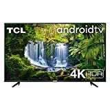 TCL 43P615 - Televisor 43 pulgadas, Resolución 4K HDR, Android TV, Micro Dimming Pro, Dolby Audio, Google Asistant, Compatible con Alexa