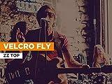 Velcro Fly al estilo de ZZ Top