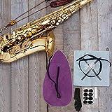 Práctica grasa de corcho profesional para amantes del saxofón para todo tipo de saxofones