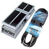 Boss FV-500H - Pedal de expresión y cable de guitarra en ángulo (6 m)