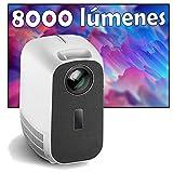 Proyector 4K, Luximagen UHD300, 8.000 Lúmenes, Contraste 100.000:1 ,Fullhd Nativo, Cine en Casa 300