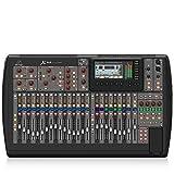 Behringer X32 mezclador DJ, Mezclador para DJ, 24 Bit, 10, 22000 Hz, 0.006%, 6.3 mm, 90 cm, 52.8 cm, Negro, X32, Console