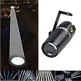 LED Pinspot La luz,TOM LED 6W Blanco haz de luz de la etapa