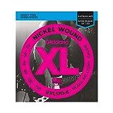 D'Addario EXL170-6 Cuerdas con Entorchado En Níquel, Plateado