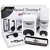 Kit de limpieza para discos de vinilo retro, todo lo necesario para proteger sus discos de vinilo y disfrutar de la mejor calidad de sonido posible