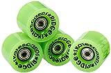 Ridge Cruiser - Ruedas de monopatín, Color Verde, tamaño 59mm