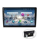 Android Car Radio GPS 9'' Reproductor estéreo CAMECHO 2 DIN Pantalla táctil FM Am Radio Bluetooth WiFi Teléfono móvil Espejo Enlace con Doble USB